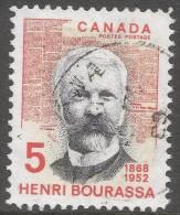 Canada. 1968 Birth Centenary Of Henri Bourassa. 5c Used. SG 627 - 1952-.... Reign Of Elizabeth II