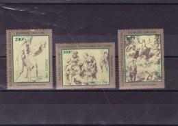 CONGO : Tableaux De Raphael : Y&T :702** à   704** - Neufs