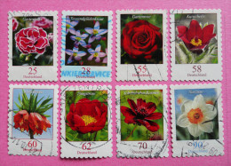 BRD - 2005 - 2015, Serie Blumen - O, - BRD
