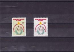 CONGO : 25 Anniversaire Des 3 Glorieuses : Y&T :708** -   709** - Neufs