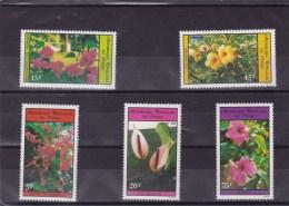 CONGO : Fleurs : Y&T :712** à  716** - Neufs