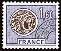 France Préoblitéré N° 144 ** Monnaie Gauloise - Le 1.40 Fr Lilas Et Brun - 1964-1988