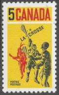 Canada. 1968 Lacrosse. 5c MNH. SG 625 - 1952-.... Reign Of Elizabeth II