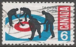 Canada. 1969  Curling. 6c Used. SG 632 - 1952-.... Reign Of Elizabeth II