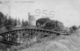 CPA * * BRUGES * * Pont Sur Le Canal Du Béguinage - Brugge