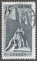 Canada. 1968 50th Anniv Of 1918 Armistice. 15c Used. SG 629 - 1952-.... Reign Of Elizabeth II