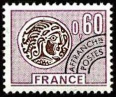 France Préoblitéré N° 140 ** Monnaie Gauloise - Le 60c Brun Lilas Et Brun - 1964-1988