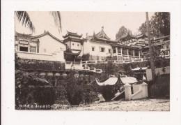 MALAISIE PENANG AYER ITAM Temple Chinois Carte Photo - Malesia