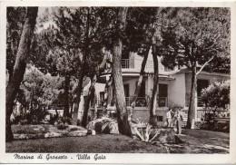 Toscana-grosseto-marina Di Grosseto Veduta Animata Villa Gaia Anni 40/50 - Italia