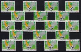 MALTA 1994 MNH - Football World Cup USA, 30c Stamps X18 Copies MNH - World Cup