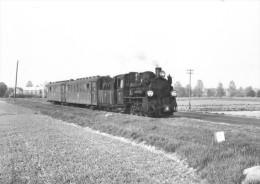 CPSM  ZELAZKOW (POLOGNE) TRAIN VOYAGEURS Près De ZELAZKOW SUR LA LIGNE KALISZ WASK - TUREK (LONG : 56 KM) - Poland