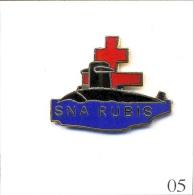 Pin´s - Armée - Marine / SNA Sous-Marin Rubis. Estampillé GFgroupe Fia. EGF. T424-05B. - Militair & Leger