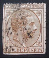 ALPHONSE XII 1878 - OBLITERE - YT 175 - MI 168 - Gebraucht