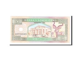 Somaliland, 5 Shillings = 5 Shilin, 1994, Undated, KM:1a, NEUF - Somalia