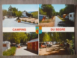 BOURG MADAME  (66). MULTIVUE SUR LE CAMPING DU SEGRE . ANNEE  1981 - Altri Comuni