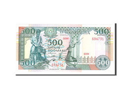 Somalie, 500 Shilin = 500 Shillings, 1989, Undated, KM:36a, NEUF - Somalia