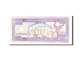 Somaliland, 10 Shillings = 10 Shilin, 1994, Undated, KM:2a, NEUF - Somalia