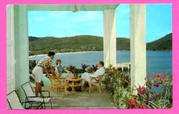 Tropic Isle Hotel - St. Thomas Virgin Islands - Tropicile - Animée - HANNAU - Couleurs - Etats-Unis