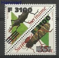 Surinam 2000 Mi Par1760-1761 MNH - Insects - Insectos