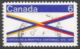 Canada. 1969 Centenary Of Manitoba. 6c Used. SG 647 - 1952-.... Reign Of Elizabeth II