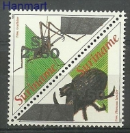 Surinam 2002 Mi Par1851-1852 MNH - Insects, Spiders - Insectos