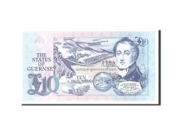 Guernsey, 10 Pounds, 1991, Undated, KM:54a, NEUF - Guernesey