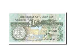 Guernsey, 1 Pound, 1991, Undated, KM:52b, NEUF - Guernsey