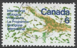 Canada. 1970 International Biological Programme. 6c Used. SG 649 - 1952-.... Reign Of Elizabeth II