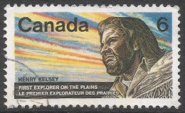 Canada. 1970 300th Birth Anniv Of Henry Kelsey. 6c Used. SG 654 - 1952-.... Reign Of Elizabeth II