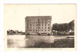 CPA  72 PRECIGNE ( Environs ) Moulin De Pendu Sur La Sarthe - Autres Communes