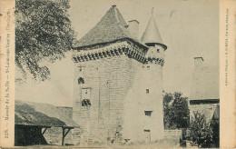 Dép 24 - St Leon Sur Vezere - Saint Leon Sur Vezere - Manoir De La Salle - état - France