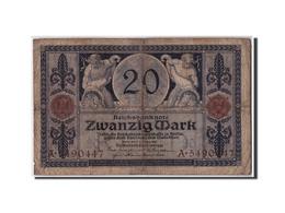 Allemagne, 20 Mark, 1915, KM:63, 1915-11-04, B - [ 3] 1918-1933 : République De Weimar