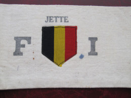 JETTE   -        BRASSARD FRONT INDEPENDANCE     -  SECTION JETTE - Stoffabzeichen