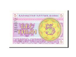 Kazakhstan, 5 Tyin, 1993, Undated, KM:3, SPL - Kazakhstan