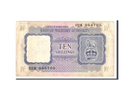 Grande-Bretagne, 10 Shillings, 1943, KM:M5, Undated, TB+ - British Military Authority