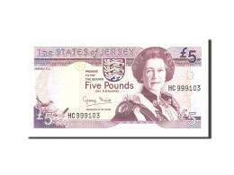 Jersey, 5 Pounds, 1993, Undated, KM:21a, NEUF - Jersey