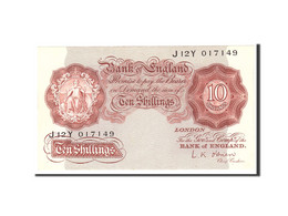 Grande-Bretagne, 10 Shillings, 1955, KM:368c, Undated, SPL - 1952-… : Elizabeth II