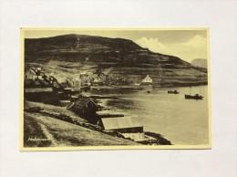 AK   FAROE ISLANDS  FÄOËR   HALLDORSVIK - Faroe Islands