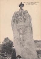 22 PENVERN Pleumeur-Bodou Menhir Christianisé De Penvern CPA 1910 - Pleumeur-Bodou