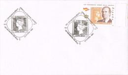 R 1068. Carta Exposicion MAHON (Menorca) Baleares 2000. 150 Aniversario Sello Español - 1931-Hoy: 2ª República - ... Juan Carlos I