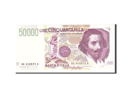 Italie, 50,000 Lire, 1992, KM:116c, 1992-05-27, NEUF - [ 2] 1946-… : République