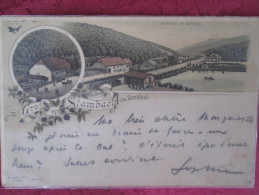 GRUSS AUS STAMBACH IM ZORNTHAL   1897 RARE - Saverne