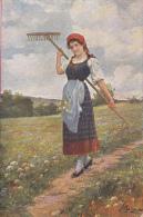 CPA ILLUSTRATIONS,  J. SUSS- FIELD FLOWERS - Suess, Josef