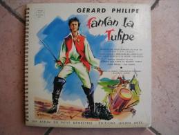 33 Tours 25 Cm -  FANFAN LA TULIPE - ADES 4  - GERARD PHILIPE  ( 1er Pochette ) - Children