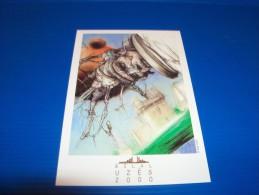 BILAL. Carte Postale Pour Le 9e Festival De La BD à Uzès (Gard). An 2000. - Cartes Postales