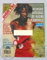 1993 Spanish Men´s Magazine - Naomi Campbell Nude/ Topless Photos & 2 Pages Central Poster  - Heidi Fleiss - Revistas & Periódicos