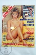 1993 Spanish Men´s Magazine - Alessandra Mussolini Nude Pictures - Revistas & Periódicos