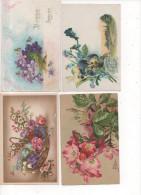 TH037/ Lot De 23 Cartes Fantaisies Fleurs - Fleurs