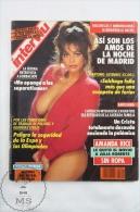 1991 Spanish Men´s Magazine - Amanda Rice, Beatrice Dalle, Maria Whittaker On Cover - Revistas & Periódicos