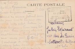 Saint Brieuc -  Cachet Hopital Militaire N° 3 Sur Cpa  (14 Juin 1915) - 3 Scan